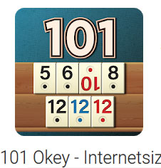 101 Okey İnternetsiz indir