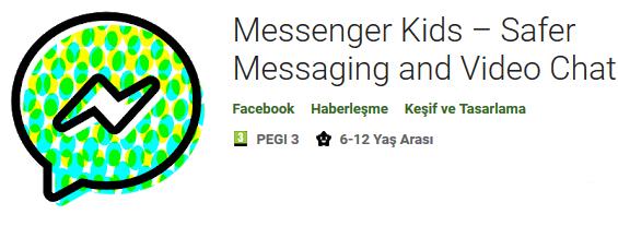 Messenger Kids Apk indir