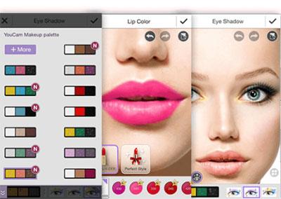 YouCam MakeUp Makyaj Yapma Programı