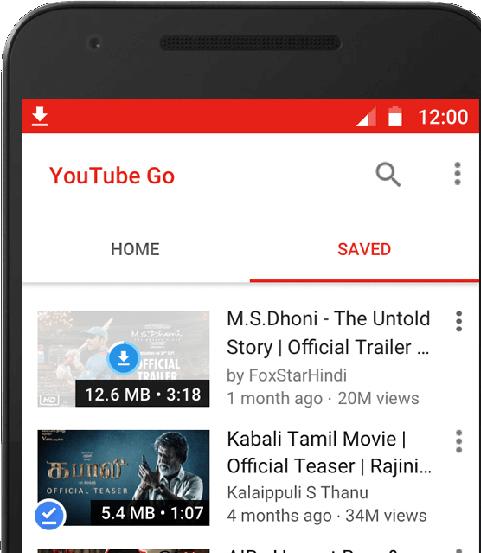 Youtube-go-mobil
