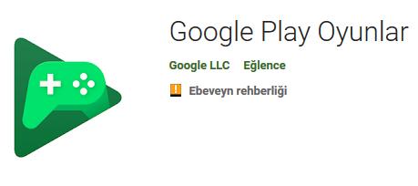 Google Play Oyunlar indir